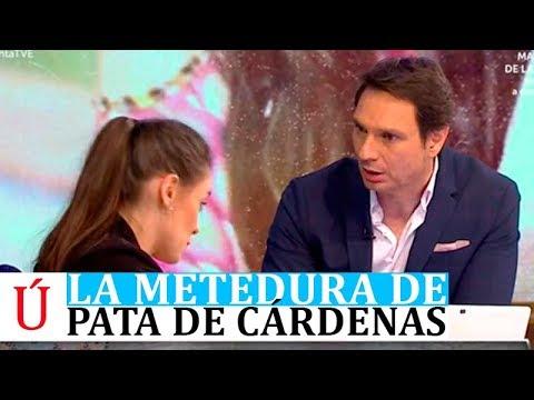 Javier Cárdenas nueva metedura de pata con una mujer con parálisis en Hora Punta