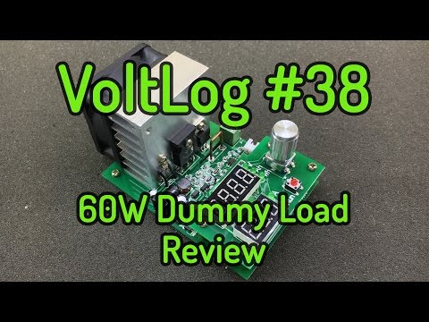 Voltlog #38 - 60W Electronic DC Load Review ZPB30A1
