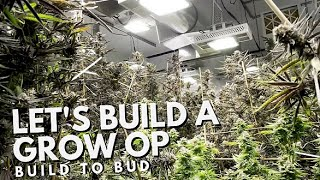 Let's Build a Grow Op The Movie! From Build to Bud! by Urban Grower