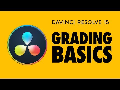 Color Grading Basics for Beginners - Davinci Resolve 15 (free!)