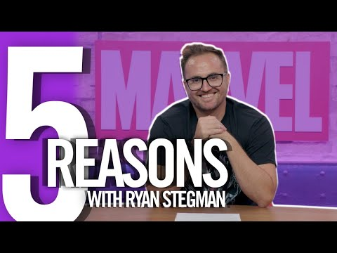 5 Reasons with Ryan Stegman   Marvel Comics