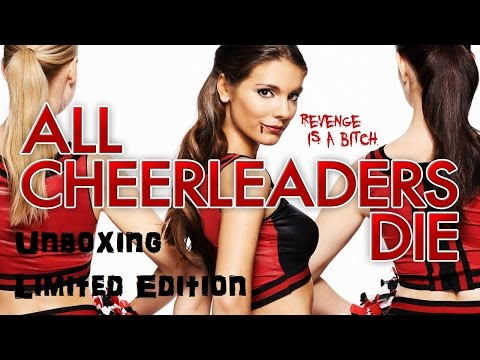 Unboxing - All Cheerleaders Die - Limited Edition (Blu Ray Disc + Booklet)