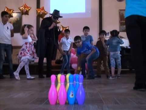 Аниматор Зорро Бака конкарси для детеи