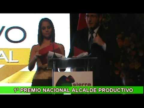 1º Premio Nacional Alcalde Productivo