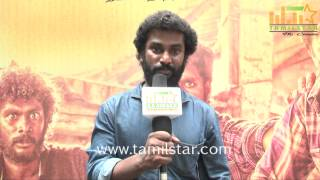Mahendhiran at Tamil Selvanum Kalai Selviyum Team Interview