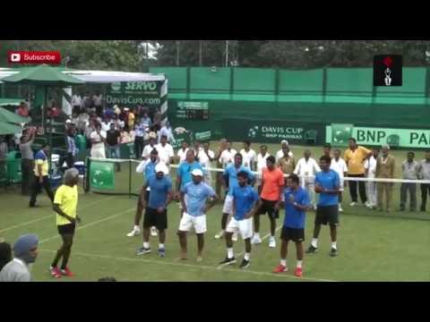 Davis Cup Victory Dance - India beats Korea 4-1