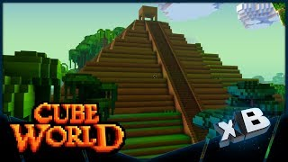 I Raided a Giant Dungeon in Cube World! (E02)