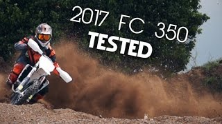 1. MOTOCROSS TESTED - 2017 Husqvarna FC 350