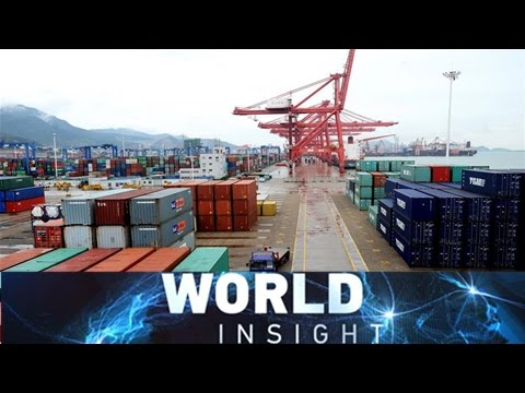 World Insight— China economy charted; Putin's offensive in Japan; A walk with Baron Bates (Video)