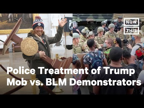 Police Treatment of Trump Supporters vs. BLM Protesters | NowThis