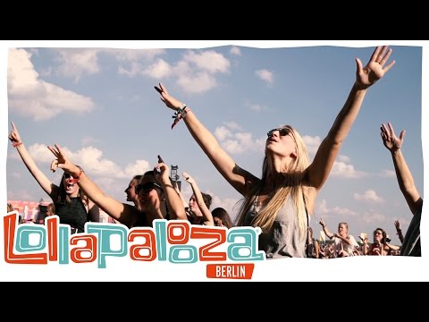 Lollapalooza-Festival im Treptower Park