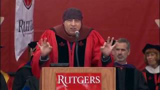 <b>Steven Van Zandt</b>s Closing Remarks At Rutgers Commencement