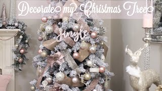 Christmas Tree Decorate With Me | GLAM Tree