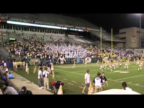 """Georgia Tech Marching Band -- """"The Horse"""""""