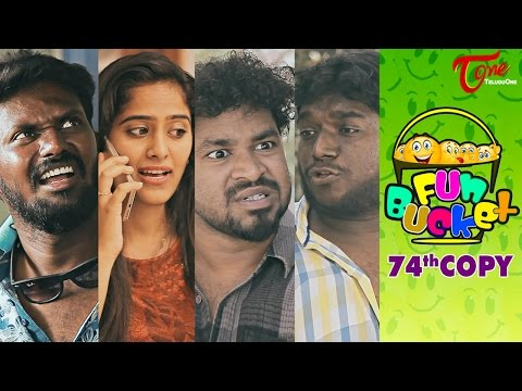 Fun Bucket | 74th Copy | Funny Videos | by Harsha Annavarapu