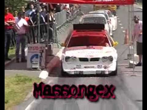 lancia delta s4 pure sound video shock