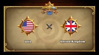 USA vs UK, game 1