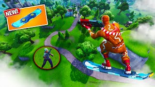 NEW DRIFTBOARD in Fortnite! The Fortnite Hoverboard is AMAZING!