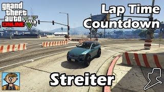 Fastest Sports Cars (Streiter) - GTA 5 Best Fully Upgraded Cars Lap Time Countdown
