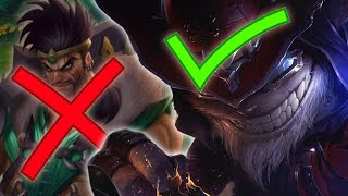 Video ADCs BEING REPLACED.. by Mages?? (League of Legends) MP3, 3GP, MP4, WEBM, AVI, FLV Juni 2018
