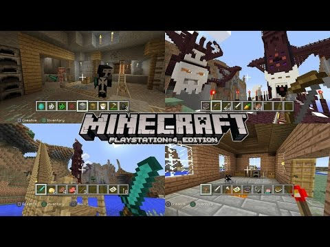 minecraft playstation 4 trailer