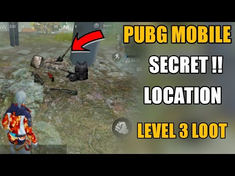PUBG MOBILE SECRET LOOT LOCATION !! PUBG MOBILE NEW SECRET TRICKS