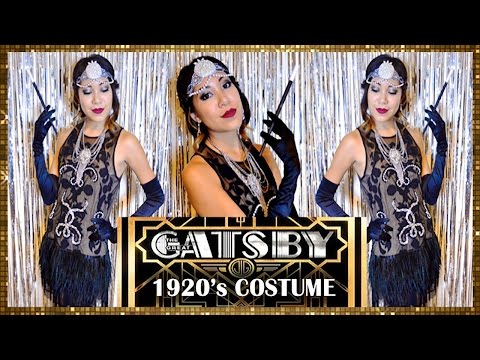 FLAPPER DRESS! 1920's GREAT GATSBY COSTUME