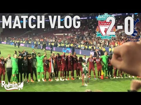 Liverpool 2-0 Spurs | Champions League Final Vlog