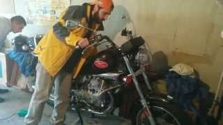 6. Moto Guzzi Nevada 750 - First Start After Winter (2015)