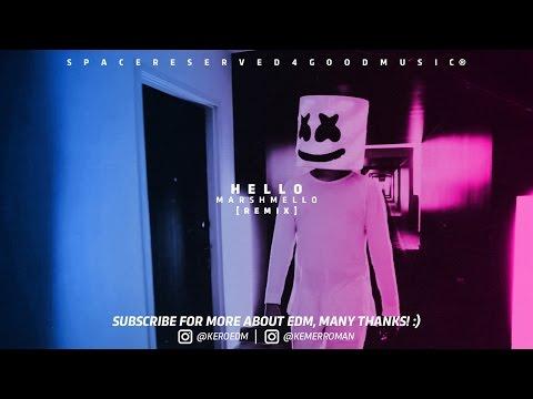 Hello - Marshmello Remix ft Adele  [ Unofficial Video Music ] (видео)