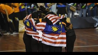 The Malaysian national netball team delivered a pumped-up 65-41 victory over defending champions Singapore in the netball...