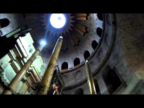 The Mass At The Church Of The Holy Sepulchre Of Jerusalem