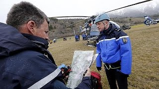 Germanwings enkazına ulaşıldı, kara kutu bulundu