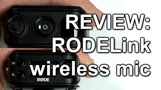 "We review the new wireless mic transmitter and receiver kit from Rode, the Rodelink. It's supplied as a pre-matched pair of Tx and Rx units, plus the Rode Lavalier microphone. Each unit runs off two AA cells.See also our review of Rode's subsequent ""Newsshooter"" wireless XLR kit at https://youtu.be/eOSxM57lU5MIf you'd like to buy this kit after watching the video, please do via our Amazon link as a small commission from this helps us keep the reviews coming. The link is: RodeLink kit: http://amzn.to/1d17iObRode Lav (mic only): http://amzn.to/1CdGPn7Samples recorded on a Canon XF200.Published by www.tubeshooter.co.ukwww.twitter.com/tubeshootermagwww.facebook.com/tubeshootermag"