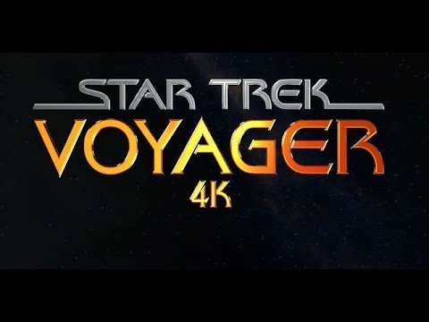 Star Trek Voyager - 4k / HD Intro  - NeonVisual