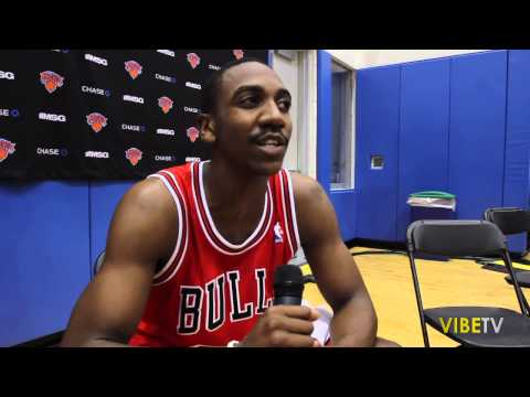 Marquis Teague Of The Chicago Bulls