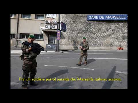 2 dead in knife attack at French train station