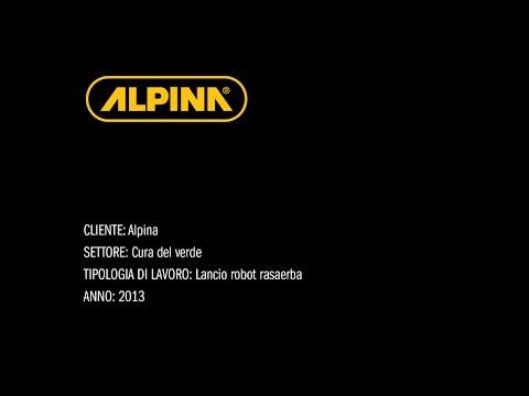 Alpina - Lancio Robot Rasaerba