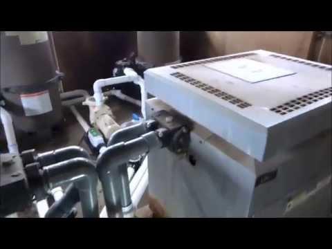 propane fired pool heater fixed