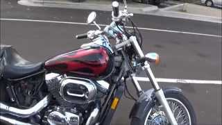 9. Buying me another motorcycle a 2005 Honda Shadow 750