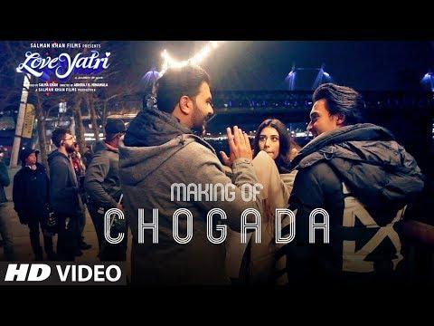 Loveyatri: Making Of Chogada Song   Aayush Sharma   Warina Hussain