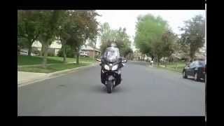 9. 4-19-12 Ride on my 2009 Suzuki 650 Burgman