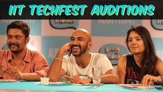 Video Being Indian's IIT TechFest Auditions MP3, 3GP, MP4, WEBM, AVI, FLV Mei 2018
