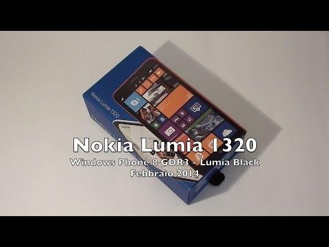 Nokia Lumia 1320 la videorecensione di Telefonino.net