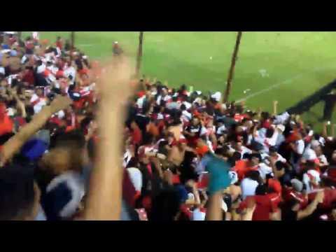 Hinchada de River copando Lanus - 15.000 hinchas - Los Borrachos del Tablón - River Plate - Argentina - América del Sur