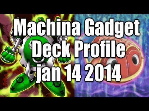 YUGIOH DECK PROFILE – MACHINA/TIN GOLDFISH GADGETS – AS OF JAN 14TH 2014