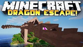 Minecraft: EPIC DRAGON ESCAPE! - w/Preston, Jerome, Bashur&Husky!