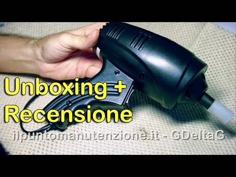 Pistola elettrica Impact Wrench - Recensione + Unboxing