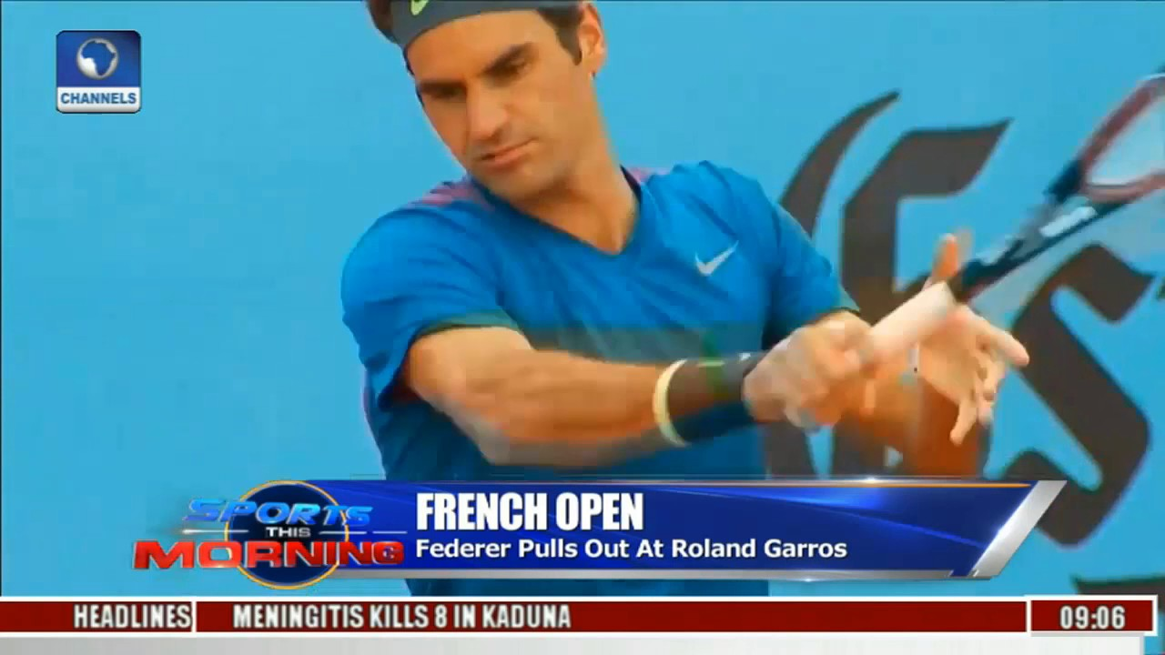 Sports This Morning: Roger Federer Pulls Out Of Roland Garros