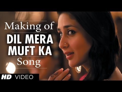 Dil Mera Muft Ka Song Making - Agent Vinod 2012
